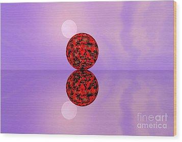 Planets Wood Print by Odon Czintos