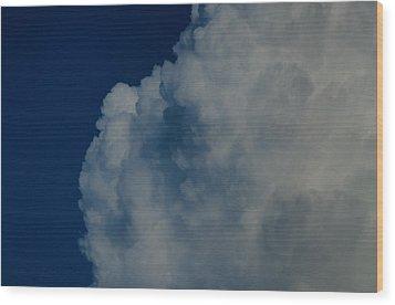 Cumulonimbus Clouds Wood Print by One Rude Dawg Orcutt