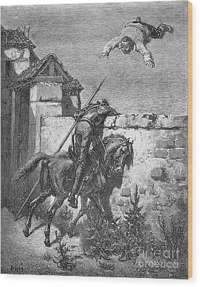 Don Quixote Wood Print by Granger