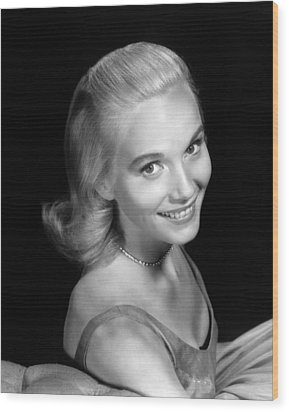 Eva Marie Saint, Ca. 1950s Wood Print by Everett