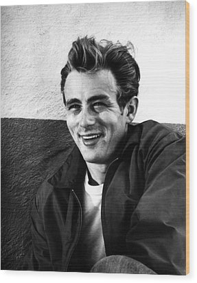 Rebel Without A Cause, James Dean, 1955 Wood Print by Everett