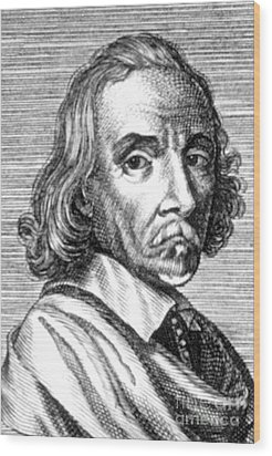 William Harvey, English Physician Wood Print by Science Source