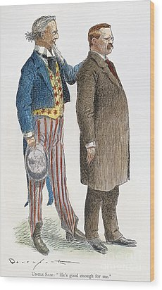 Presidential Campaign, 1904 Wood Print by Granger