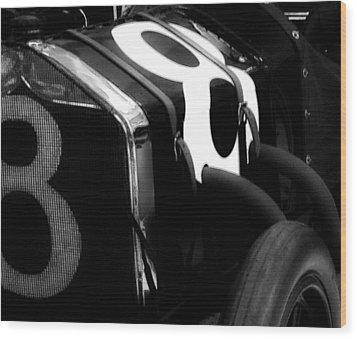 8 Racer Wood Print