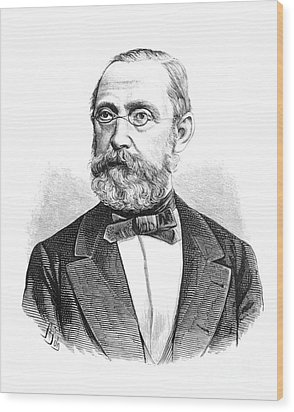 Rudolph Virchow, German Polymath Wood Print by Science Source