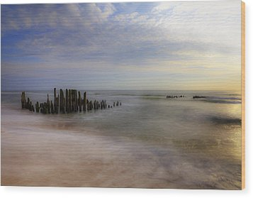 Sylt Wood Print by Joana Kruse