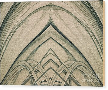 The Magic Background Wood Print by Odon Czintos