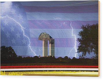 9-11 We Will Never Forget 2011 Wood Print by James BO  Insogna