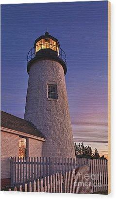 Pemaquid Point Lighthouse Wood Print by John Greim