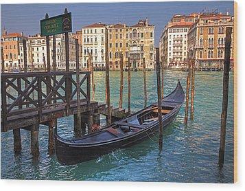 Venice - Italy Wood Print by Joana Kruse
