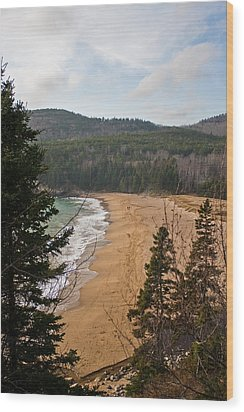 A Beautiful Place Wood Print by Greg DeBeck