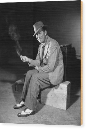 A Bedtime Story, Maurice Chevalier, 1933 Wood Print by Everett