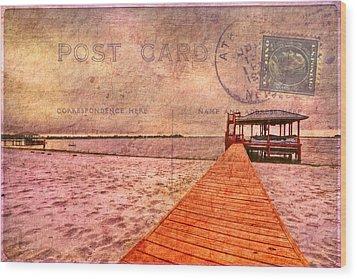 A Bit Of Nostalgia Wood Print by Debra and Dave Vanderlaan
