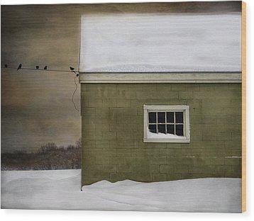 A Common Thread Wood Print by Robin-Lee Vieira