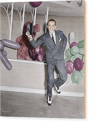 A Damsel In Distress, Fred Astaire, 1937 Wood Print by Everett