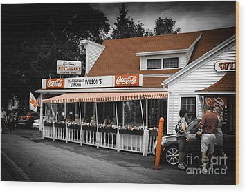 A Door County Institution Since 1906 Wood Print