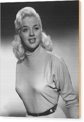 A Kid For Two Farthings, Diana Dors Wood Print by Everett