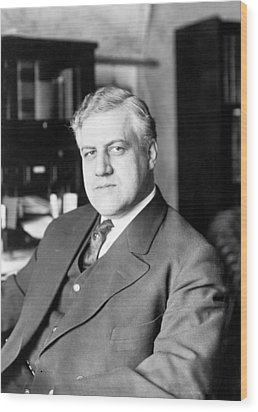 A. Mitchell Palmer, Attorney General Wood Print by Everett