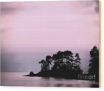 A Moment Of Tranquility Wood Print by Gail Bridger