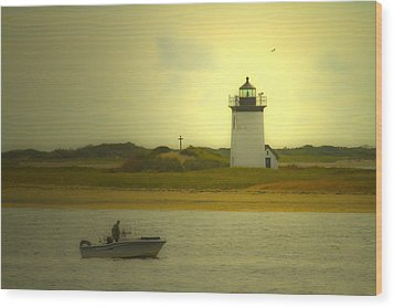A New England Moment Wood Print by Karol Livote