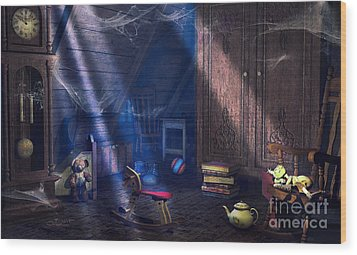 A Place Of Memories Wood Print by Jutta Maria Pusl