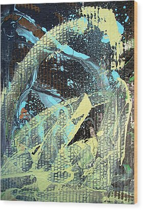 A Private Universe Of Despair Wood Print by Bruce Combs - REACH BEYOND