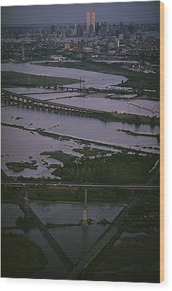 A Shot Of The Meadowlands And The New Wood Print by Melissa Farlow