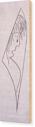 A Shoulder To Cry On Wood Print by Kip Vidrine
