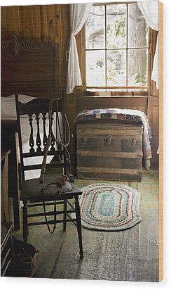 Wood Print featuring the photograph A Simpler Life by Lynn Palmer