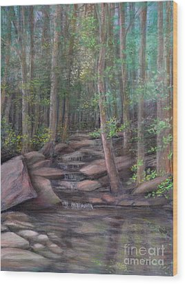 A Special Place Wood Print by Penny Neimiller