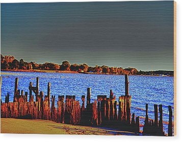 Wood Print featuring the photograph A Storm In The Sun by Kelly Reber