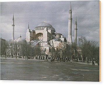 A View Of Sancta Sophia From Arcoss Wood Print by Maynard Owen Williams