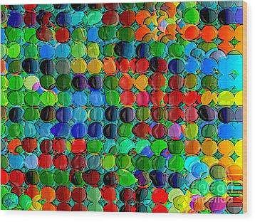 Abacus Wood Print