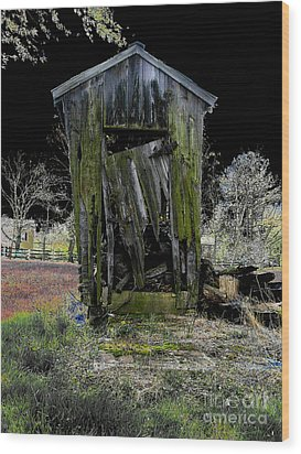 Abandoned Wood Print by Cindy Roesinger
