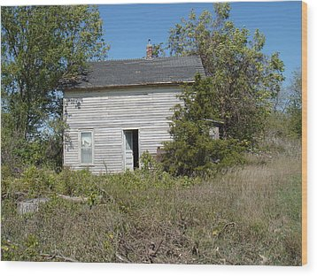 Wood Print featuring the photograph Abandoned by Bonfire Photography