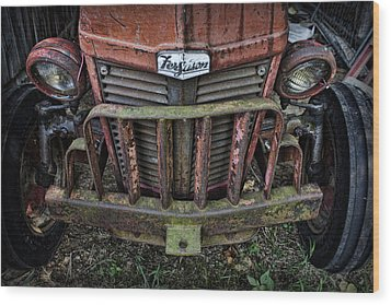 Abandoned Wood Print by Elizabeth Wilson