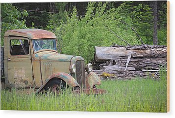 Wood Print featuring the photograph Abandoned by Steve McKinzie