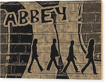 Abbey Wood Print by ABA Studio Designs