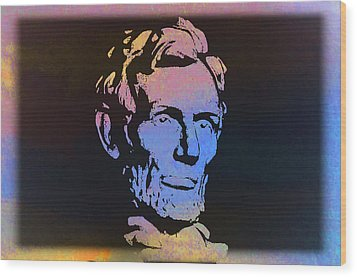 Abe Wood Print by Bill Cannon
