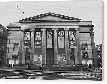 Aberdeen Music Hall Formerly The Citys Assembly Rooms Union Street Scotland Uk Wood Print by Joe Fox