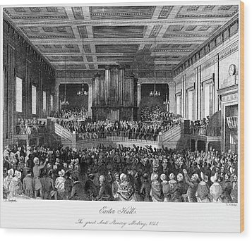 Abolition Convention, 1840 Wood Print by Granger