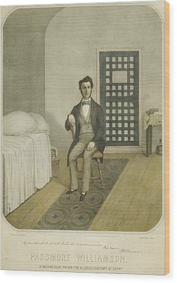 Abolitionist Passmore Williamson Wood Print by Everett