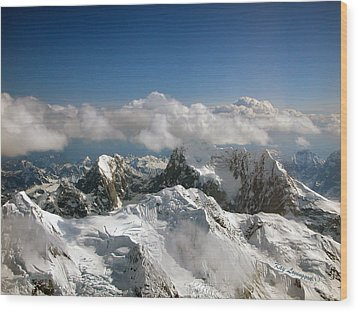 Wood Print featuring the photograph Above Mckinley by Kay Lovingood