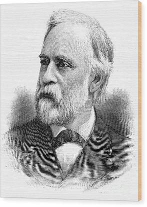 Abram Stevens Hewitt Wood Print by Granger