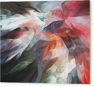 Abstract 062612 Wood Print by David Lane