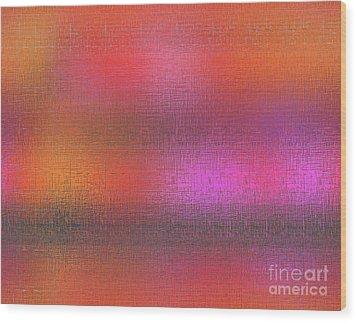 Abstract 245 Wood Print by John Krakora
