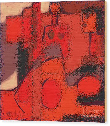 Abstract 463 Wood Print by Nedunseralathan R