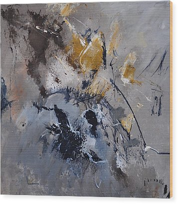 Abstract 5521502 Wood Print by Pol Ledent