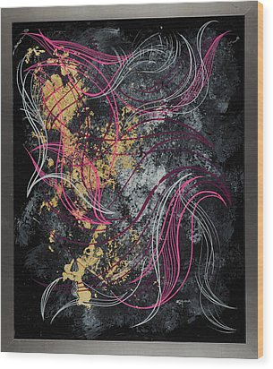 Abstract Feelings Wood Print
