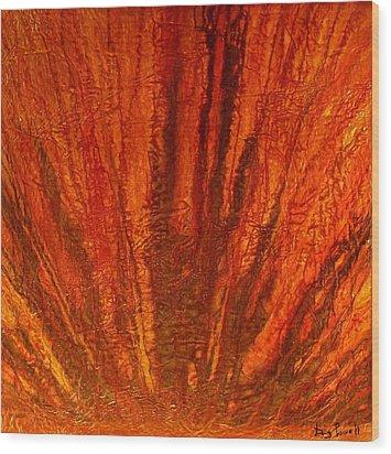Abstract Flash 2.1 Wood Print